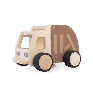 Plywood Police Car