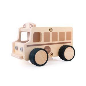Plywood School Bus